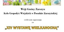 DZISIAJ: Rusza Wystawa Wielkanocna w Posadzie Zarszyńskiej